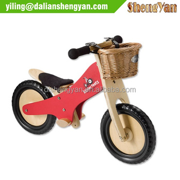 Smart Gear Wooden Balance Bike for 2-6 Year Old Kids