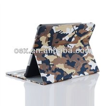 For Apple iPad Air iPad 5 High Quality Wholesales Camouflage Camo Flip PU Leather Stand Case