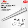 New products t8 18w led tube light with fitting