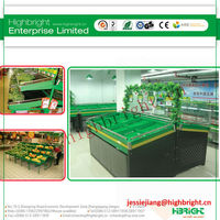 High quality shopping mall fruits and vegetable display