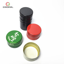 aluminium screw lid 28mm water bottle cap