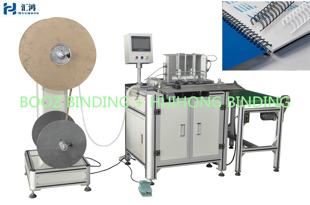 DWC-520 SEMI-AUTOMATIC DOUBLE WIRE BINDING MACHINE FOR CALENDAR BINDING