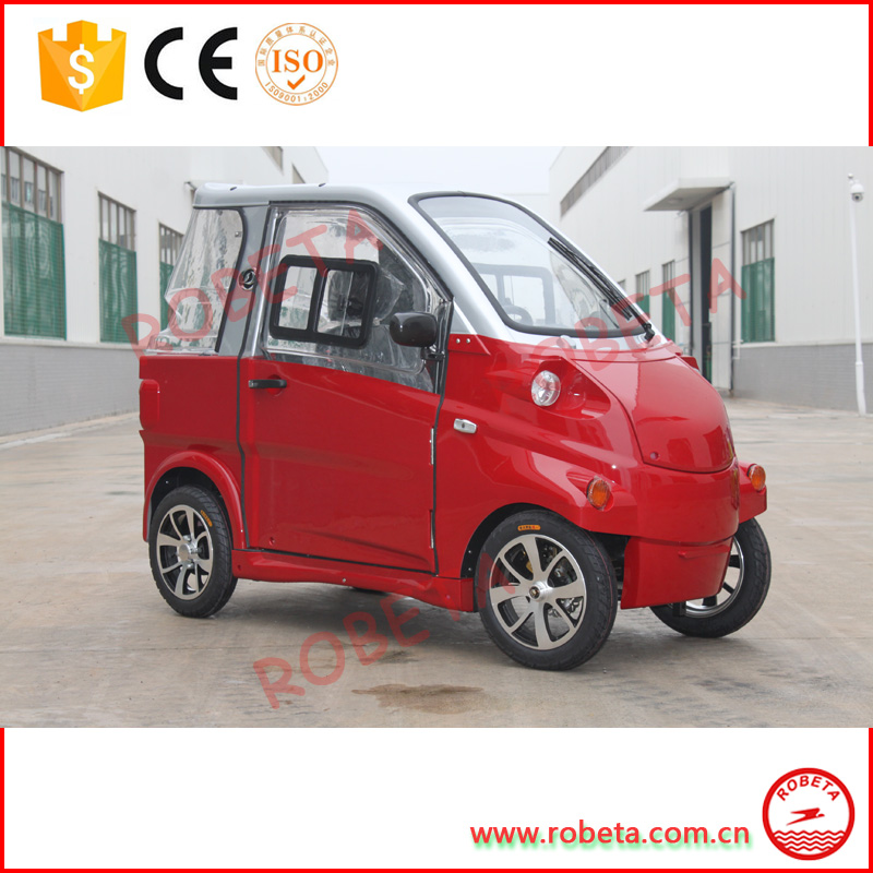 Chinese 2 Seats Mini Electric Passenger Car With EC