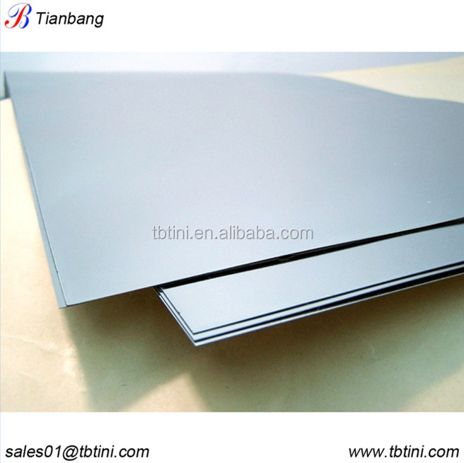 thin tungsten sheet/wolfram foil metal for superhard mould application