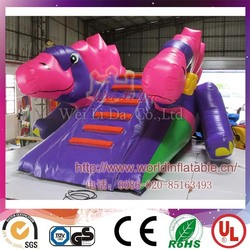 outdoor residental mini dragon inflatable slide for sale