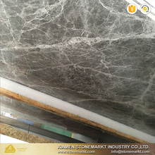 Exotic Cultured Bursa Grey Emperador Marble Slabs