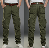 Casual Big Pocket Mens Long Cargo