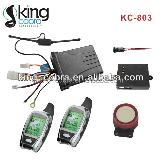 2pcs LCD Transmitter with remote engine starter microwave