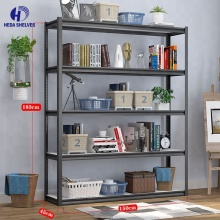 Easy and convenient 5 tier boltless <strong>shelf</strong> for sale