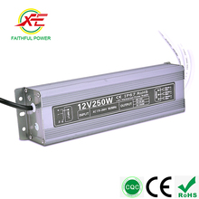 Super Low and High Working Temperature 220v Led Neon Light 12v 24v Switch Power Supply 250W