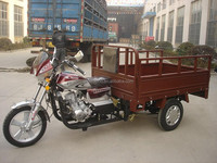 motorized tricycle for cargo reverse farming trike