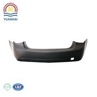 China High Precision Plastic Injection Auto Parts Car Bumper Making in Shanghai