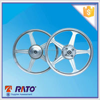 Three bearings motorcycle die casting alloy wheel hub for sale