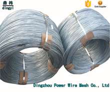 Hot selling Building material binding use high tensile strength galvanized unit weight of iron wire