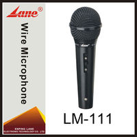 Lane LM-111 wire plastic cheap computer microphone