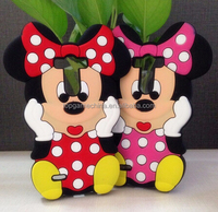 Cute 3D Cartoon Minnie Mouse Soft Silicone Phone Case for LG G3 Model Case