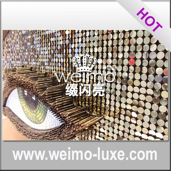 Schijnt pailletten ontwerp nieuwe decoratieve wandbekleding panelen plafondtegels product id - Ontwerp wandbekleding ...