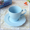 WKT180B China customizable wholesale coffee cup and saucer