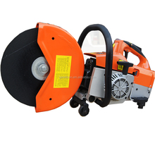 Gasoline Portable hand-held floor saw cutting machine with blade diameter 350 mm