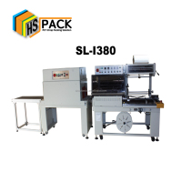 Automatic Sleeve Shrink Wrapping machine pof film shrink packing SL-I380