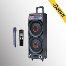 DotunDual 12 inch bose outdoor high quality speaker with bluetooth,wireless Mic, 2.0 channel