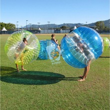 popular blue round grass the amazing wubble bubble ball