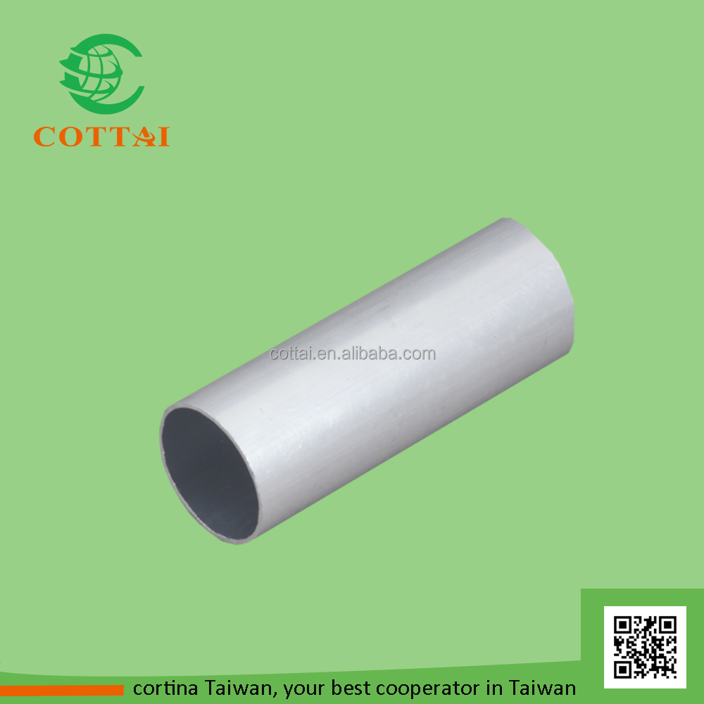 COTTAI blinds windows roller blind component aluminum round tube