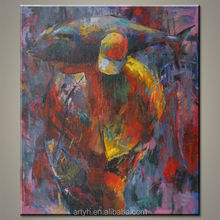 Modern wholesale abstract human figure painting