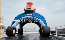 sipder inflatable dome/ dome spider with Tyres / dome inflatable