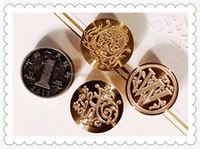 Embossing christmas wax stamps/laser engraved wax seal