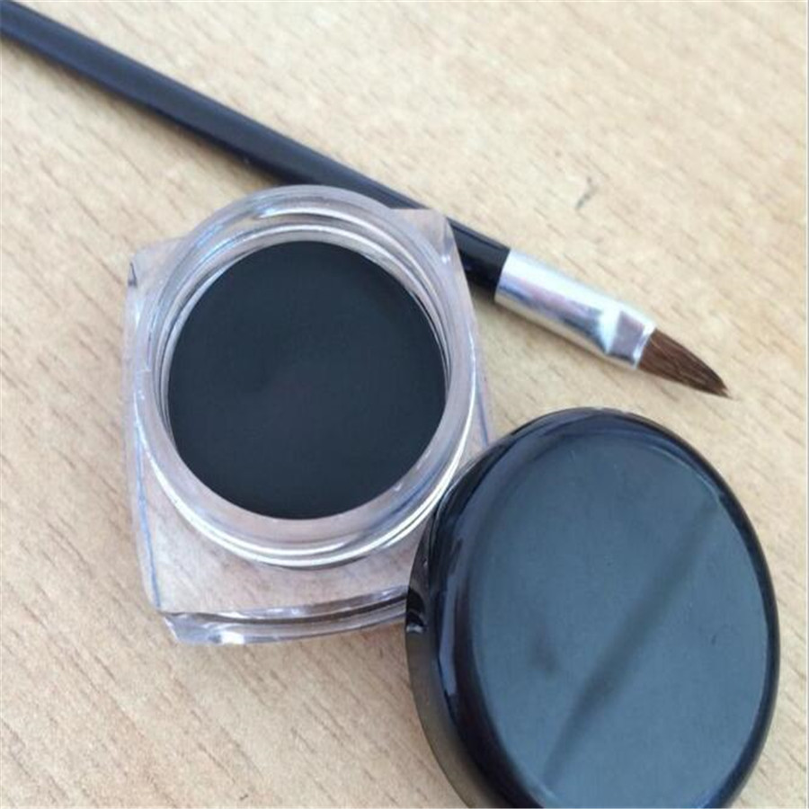 Cosmetics Waterproof Eyeliner Cream Black Long-lasting Eye Liner Without LOGO Eye Makeup