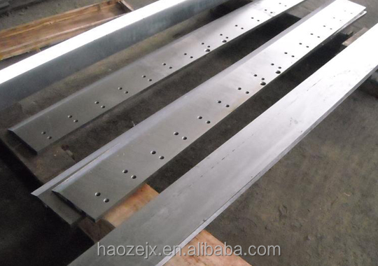 Hot Sale Straight Metal Guillotine Long Shearing Machine Steel Bar Cutting Blade