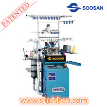 SS- 604X Series Soosan Socks Knitting Machine