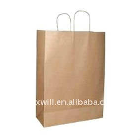 Environmentally friendly paper bags of vegetables