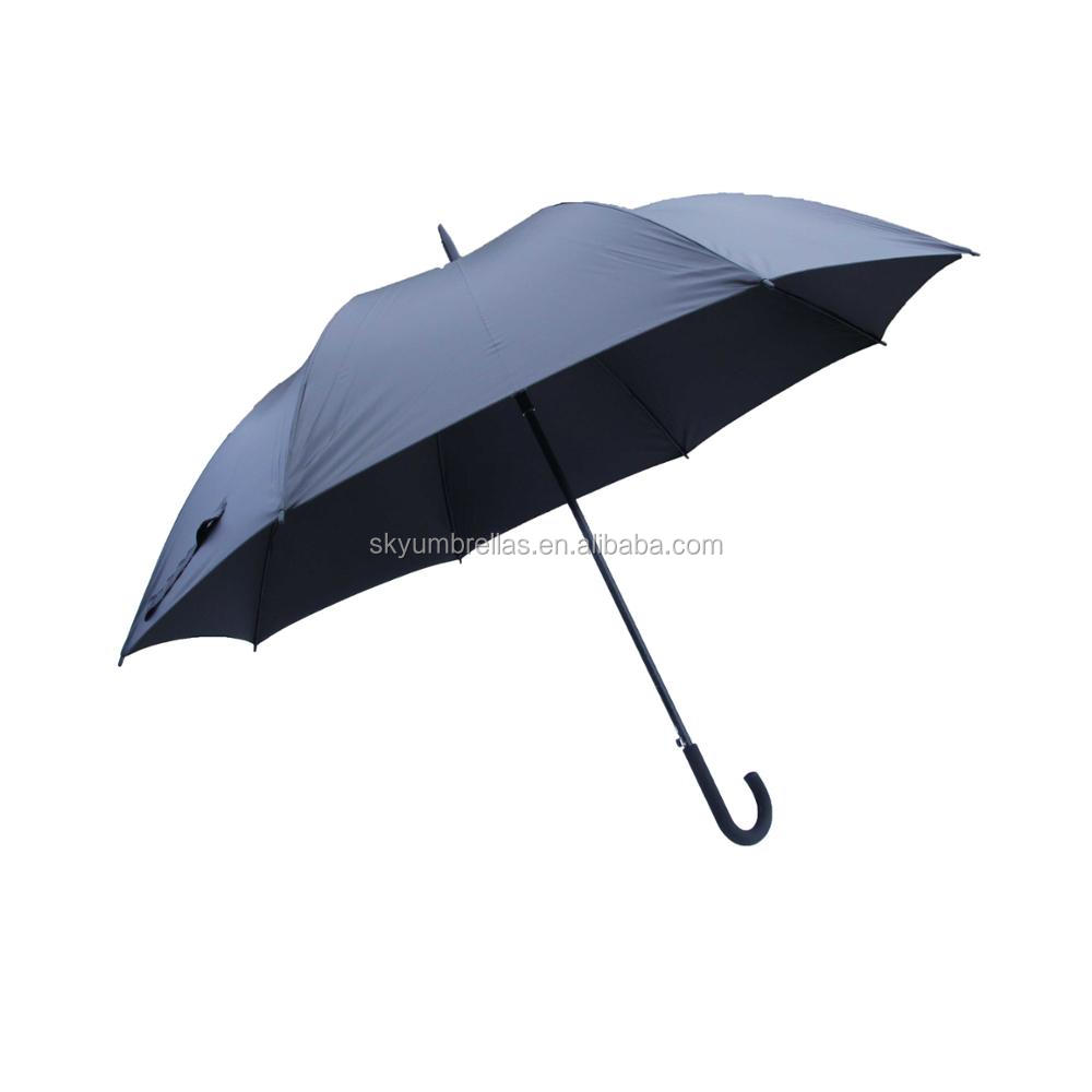 High quality customized promotional big size auto open straight umbrella