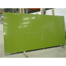 Pure Colored Apple Green Quartz Countertop