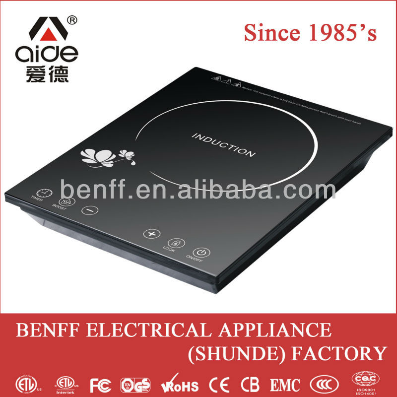 CB approval touch control induction halogen cooker