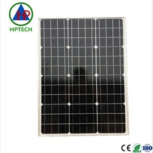 high efficiency and high quality solar cells 50 watt mono solar panels for home