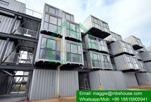 Prefabricated Modified Shipping Container Hotel for Sale