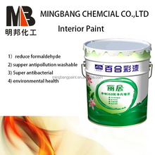 Acrylic water based emulsion wall paint