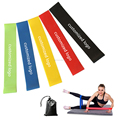set of 3 Thick loop resistance Bands of 5 levels for Men and Women Home Gyms,Yoga,Pilates,Physical