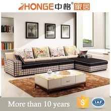sectional size nordic fabric l shaped sofa