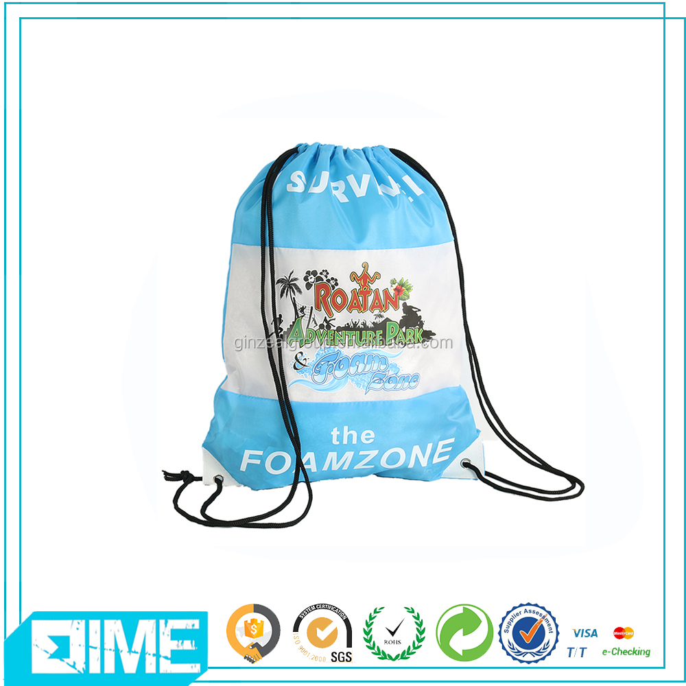 Soccer Shoe Bag Polyester Drawstring Bag