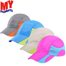 Best price competitive advertising Nylon foldable fishing waterproof baseball cap and hat