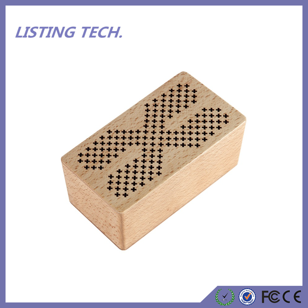 2017 New design wooden bluetooth speaker and loudspeaker