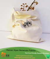Lunch Book Grocery Cotton or Denim Handbag child school bag