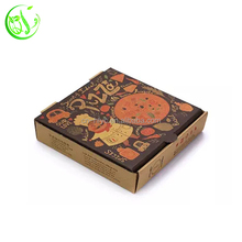 disposable food container offset printed paper pizza box