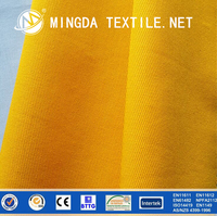 EN 11612 standard flame retardant aramid knitted fabric for fire proof clothing