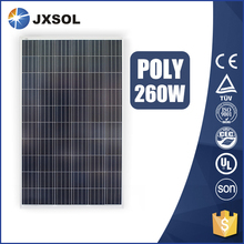 High efficiency 500 watt black poly photovoltaic 260w panel solar