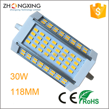 new arrival 30w led r7s fuhrte 118mm dimmbar with CE